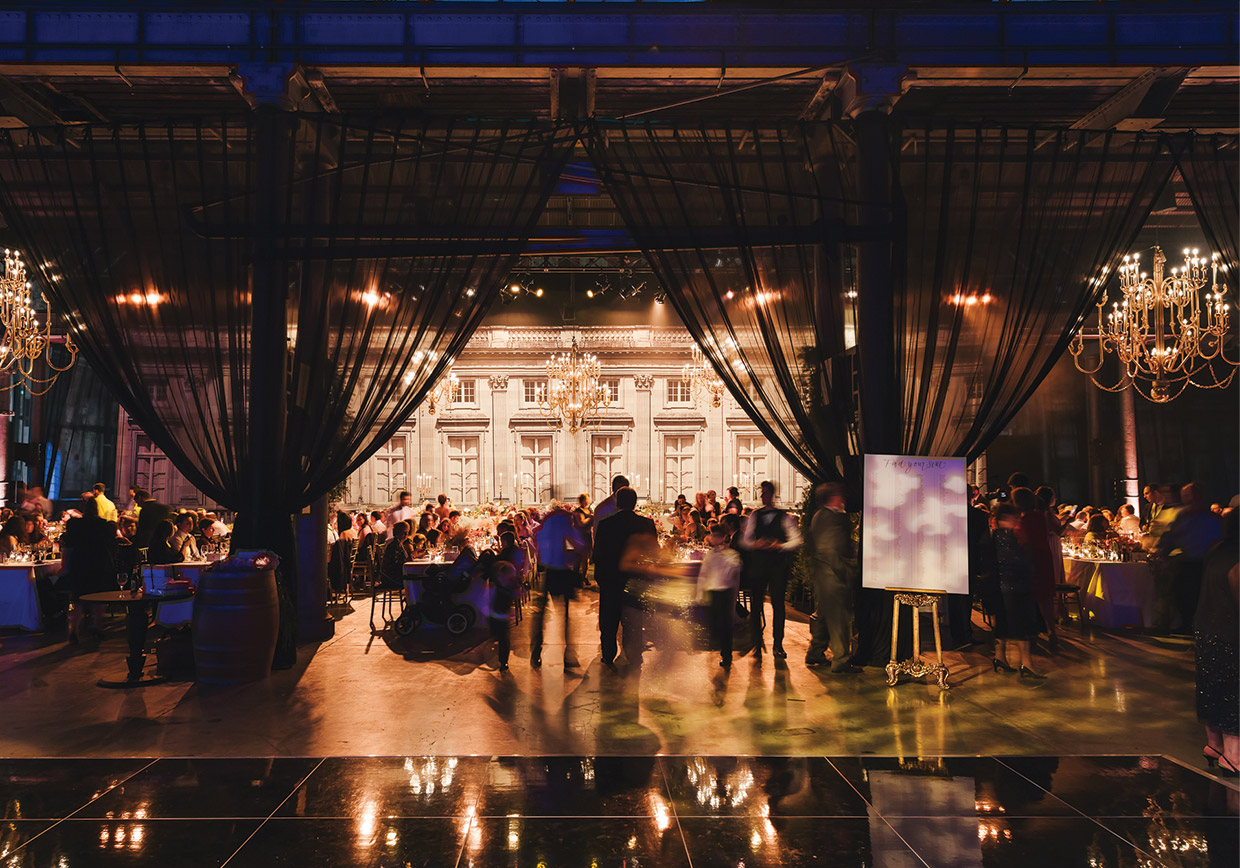 Pearl Catering at Industrial style wedding venue in Sydney